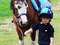 perfect lead rein pony - mothers dream