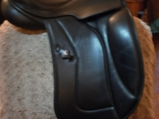Dressage saddle by Ideal