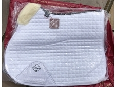 Le Mieux half lined wool saddle pad BNWT