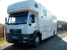 NOW SOLD - 2005 - 18T MAN Horsebox