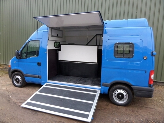 Brand New 3 5t Conversion Vauxhall Movano Horsemart