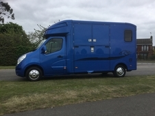 PARAGON 2, Ideal Racebox/Mare and Foal, 10, 000 miles 14 Reg Rena...