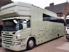 2016 Scania 6 Stall Pop Out Luxury Living