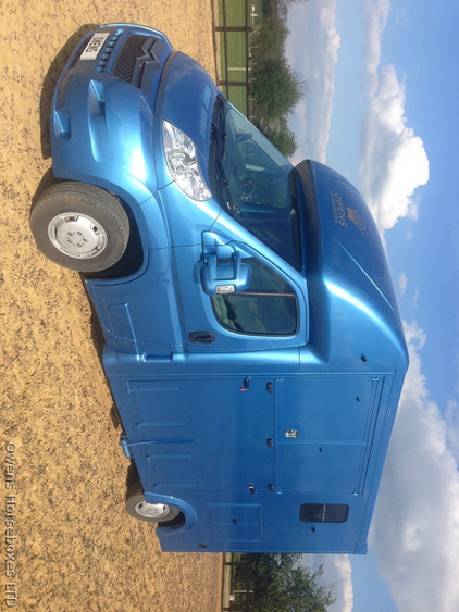 3.5 ton 2 stall Eclipse horsebox by Owens Horseboxes