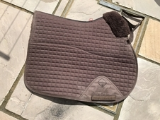 Le Mieux gp half Marino wool saddle pad full