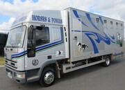 2001 Iveco Eurocargo 75E15 Sleeper cab professional transport truck. Stalled for 5.