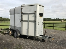 Ifor Williams 505 double trailer