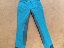 HKM PRO full seat breeches in Blue