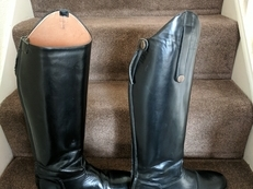 Toggi long leather riding boots