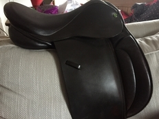 "16"" Working Hunter/Show saddle by Heritage Custom Made."