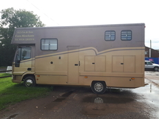 Iveco-Ford 7.5 ton horsebox