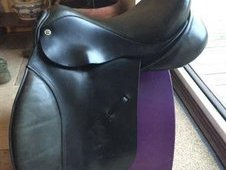 Leather Horse Saddle Cliff Barnsby