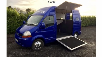 ****SOLD**** Renault Master 3.5 ton 2006 - 1400kg payload and very reliable!