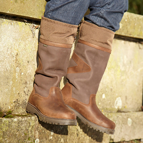Toggi - Columbus Country Boots - Dark Copper