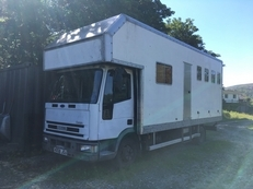 7.5 ton Ford Iveco horse box X reg