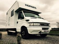 2005 iveco daily horse lorry