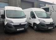 We have a choice of 2 Citroen Relays available