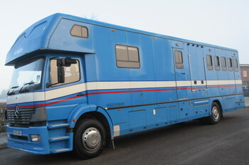 Mercedes Benz Horseboxes Trailers For Sale Horsemart