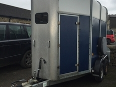 Ifor Williams HB505 Blue