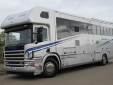 2004 Scania P300 Coach built by Sovereign coach builders. Stalled...