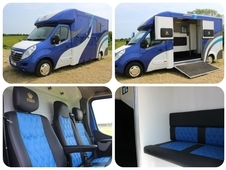 New 2017 build Owens Stallion 3. 5 ton horsebox with full dividin...