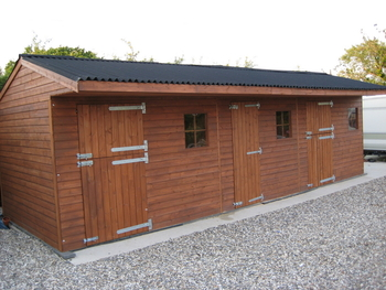 horse stable block 30ft x 12ft  £2,250 tanalised ( new ) free uk delivery ( no vat )