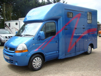 Renault Master with Evolution Horseboxes Bodywork