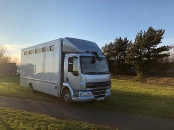 DAF 7.5 tonne horsebox for sale