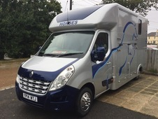 Unique horseboxes new build 2014 Renault master 3. 5 Stallion Box