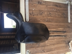 Barnsby Black Dressage saddle