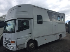 7.5 ton Horsebox only 20000klms from new