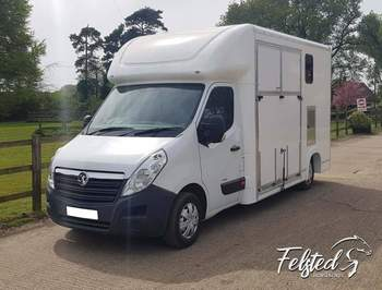 2019 3.5T FELSTED HORSEBOXES BUILT TO ORDER
