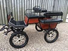 Polish Wagonette Polish four wheeled carriage to suit single or p...