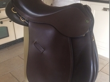 "Ideal 1350 GP 16. 5"" Brown Saddle For Sale"