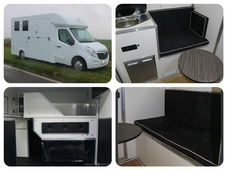 New 2017 build Owens Burghley SE 3. 5 ton horsebox with day livin...