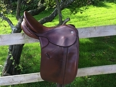 Keiffer Silverline dressage saddle