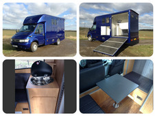 New 2017 build Owens Galloper 4.5-6.5 ton horsebox with living from £28,995 inc VAT plus chassis