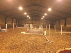 Top Class Livery Yard, Chester, indoor school