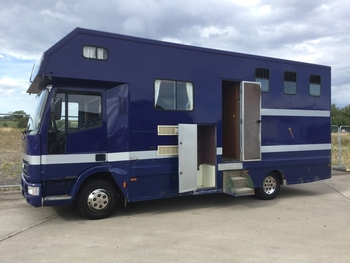 Coach built horse box for sale