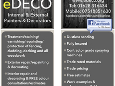 Decorators & Steam Cleaners