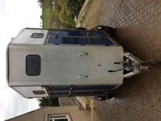 Blue IFOR Williams 510 Horse Trailer