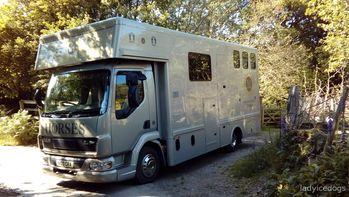 Immaculate 2015 DAF LF45 Horsebox with full living Further Reduced For Quick Sale Space Needed
