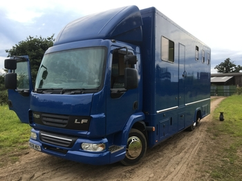 Viking Horse Box 7.5 tonne.
