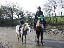 **SOLD** Kind natured 11. 2hh lead rein mare