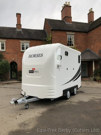 Equi-Trek Space-Treka Excel 2018 Brand New Horse Trailer Px Welcome Unused NEW