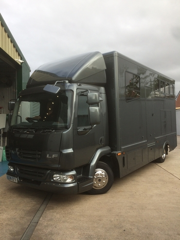 2008 PLATE BRAND NEW CONVERSION  DAF LF 45 160