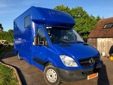 2009 (59) Mercedes Sprinter 3.5t HorseBox with Accommodation.