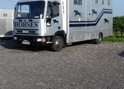 7.5 ton horse box with living for sale REDUCED FOR QUICK SALE !!!
