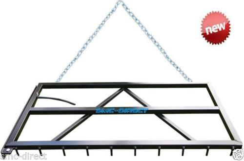 SMC-Direct HORSE ARENA LEVELLER MENAGE GRADER LEVELER SAND SCHOOL RAKE HARROW LAND LEVELLERS
