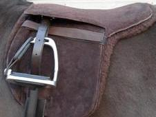 "All Suede Pony Saddle Pads 12. 5"" 14. 5"" & 15. 5"""